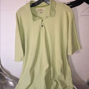 TOMMY BAHAMA Men's Short Sleeve Polo Shirt Size XL